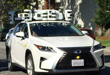 Apple Car testing in California