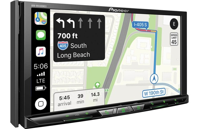 Wireless Apple CarPlay support included in new Pioneer dash receivers
