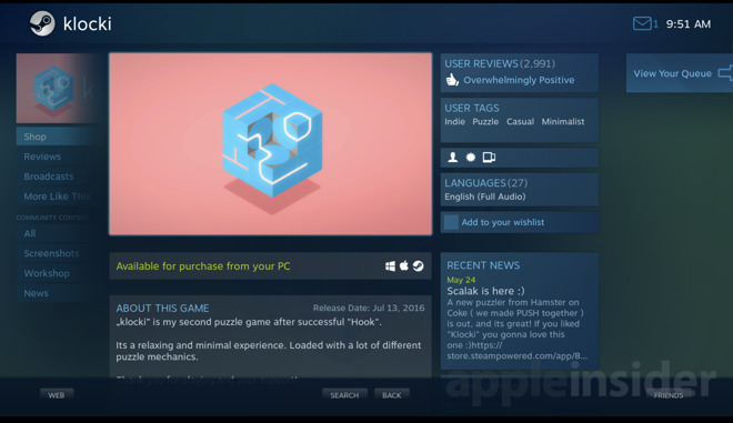 Apple should allow Steam Link into App Store despite violating third