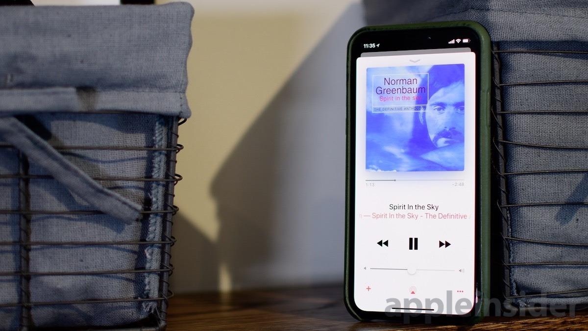 Apple Music Playing