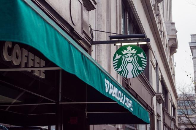 A Starbucks storefront