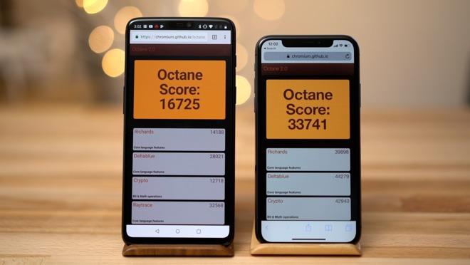 Benchmark Oneplus 6 Vs Iphone X