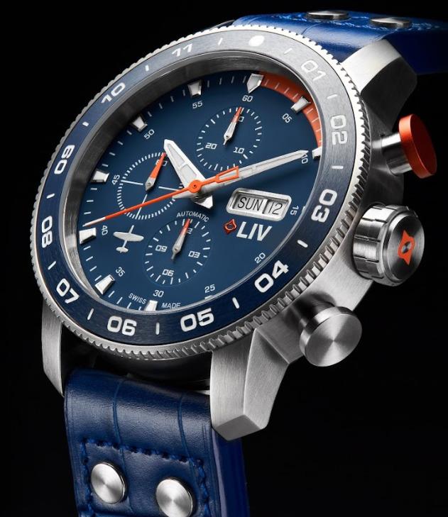 The LIV Watches pilot watch