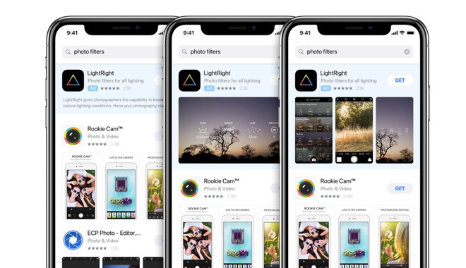 6e313e55323 Apple floats new App Store ad network concept to Snapchat