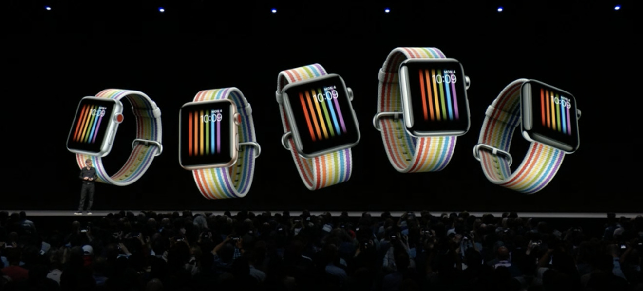 Apple's Pride watch
