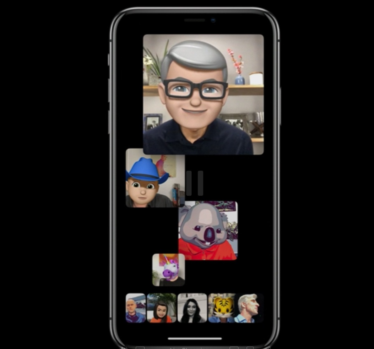 Memoji with Tim Cook