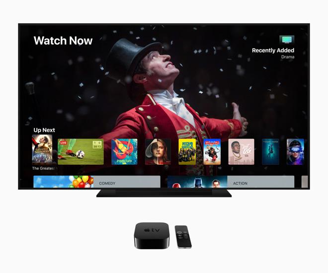 tvOS 12 on Apple TV 4K