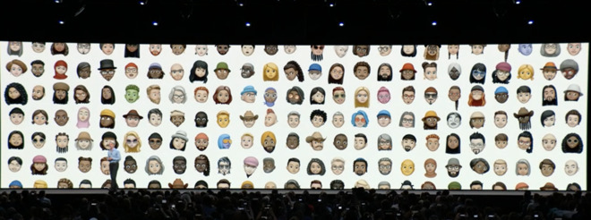 Apple's iOS 12 introduces personalized 'Memoji' and camera