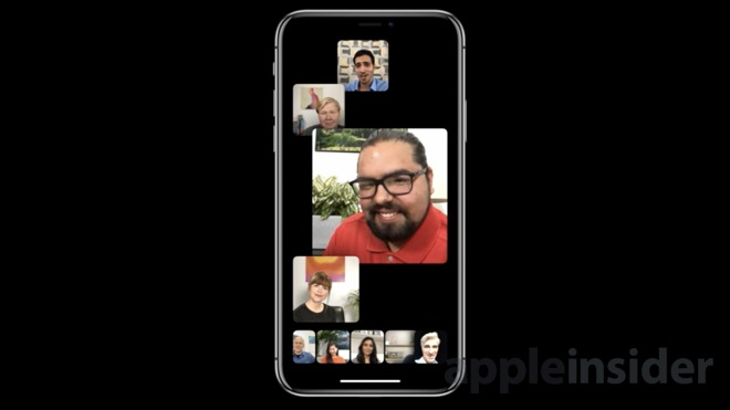 Apple debuts slick new Group FaceTime feature supporting up