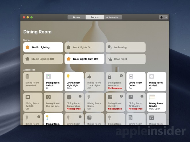 Hands on: Controlling your smart home with HomeKit on macOS Mojave