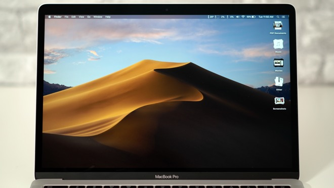 macOS Mojave on a MacBook Pro