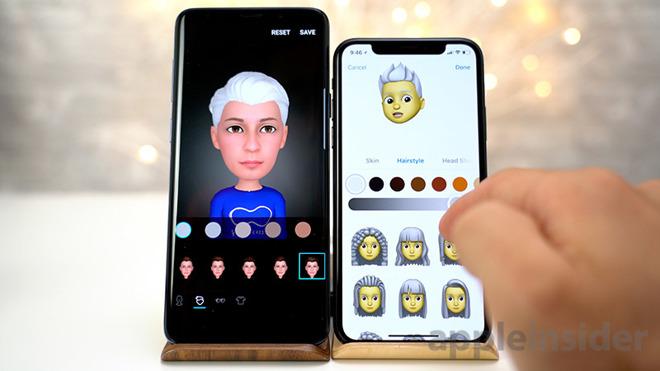 Watch Apple's new Memoji take on Samsung's AR Emoji