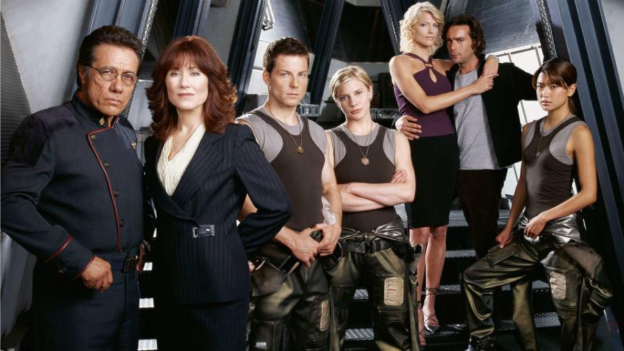 Battlestar Galactica.