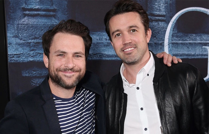 Charlie Day and Rob McElhenney