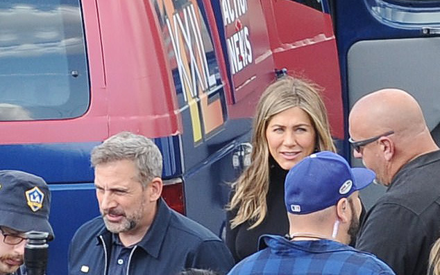 The Morning Show with Steve Carell and Jennifer Aniston