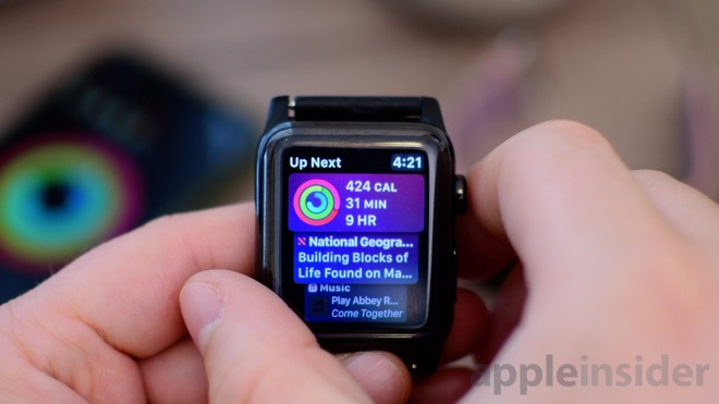 New features in watchos for apple watch