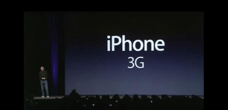 The original iPhone 3G keynote
