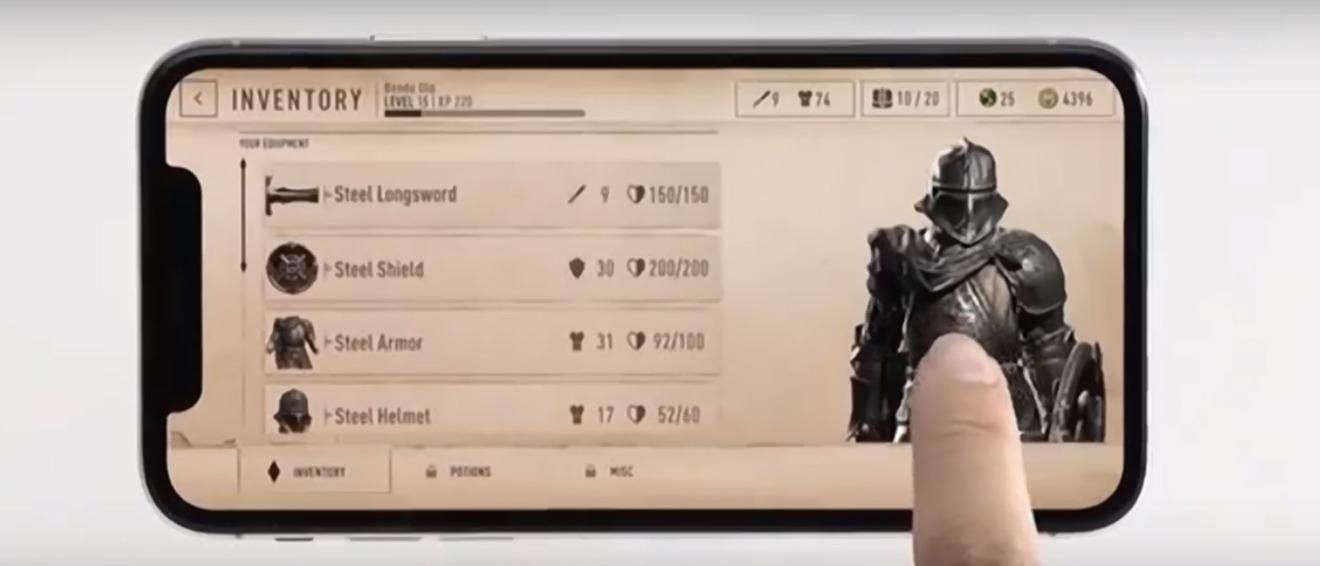 Elder Scrolls Blades on Mobile