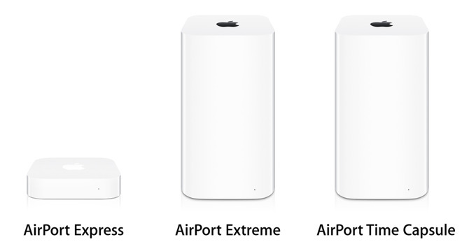 Apple's AirPort lineup