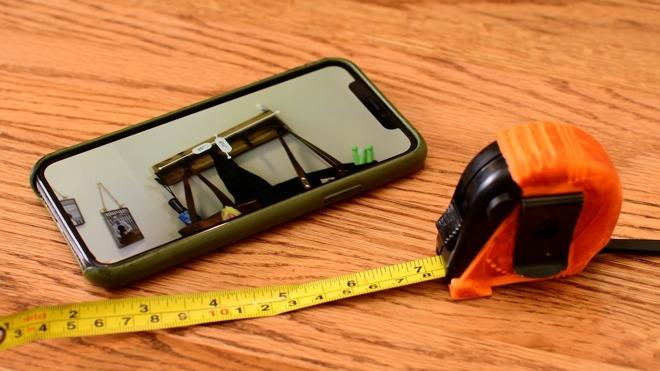 Podívejte se jak vypadá měření reálných objektů fotoaparátem v iOS 12 (Video)