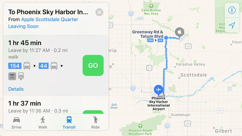 Apple Maps Phoenix