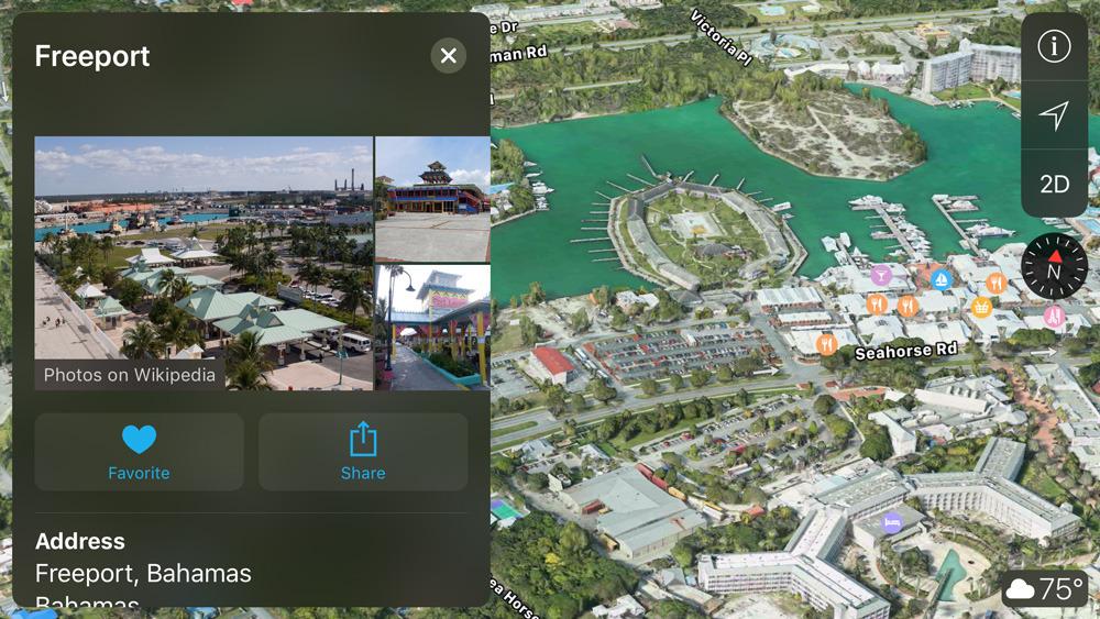 Apple Maps in iOS 12