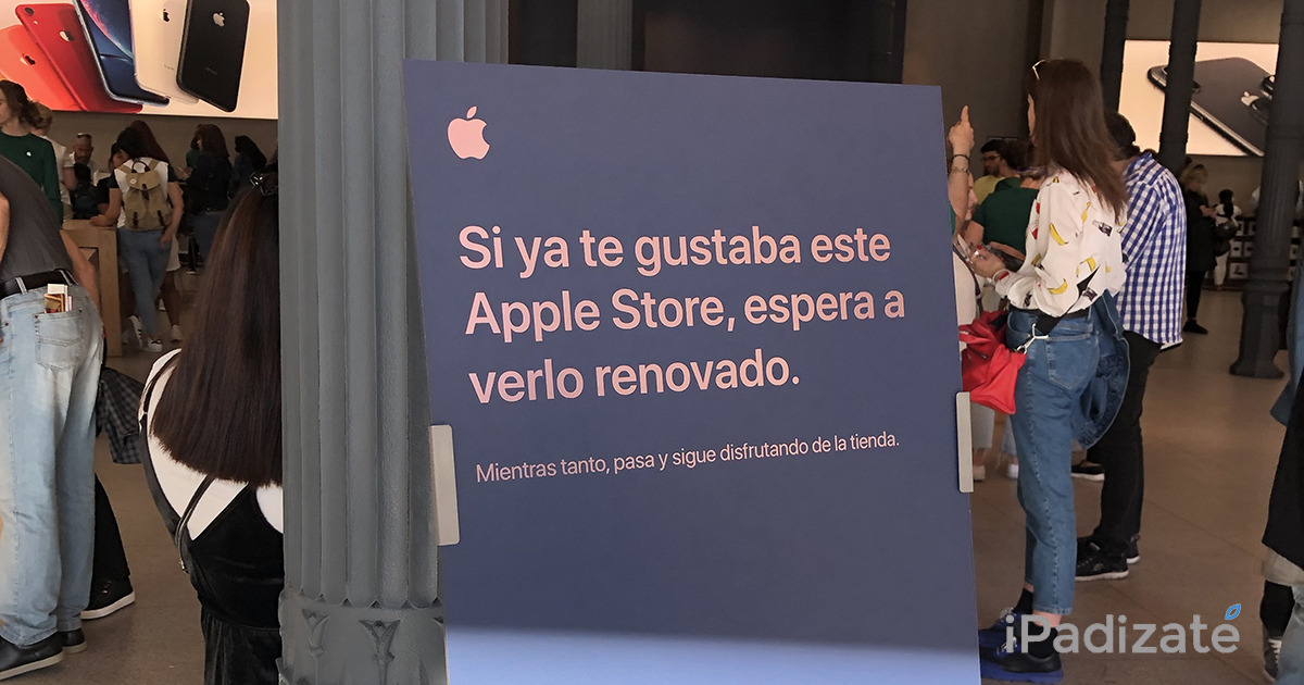 Apple Puerta del Sol renovations