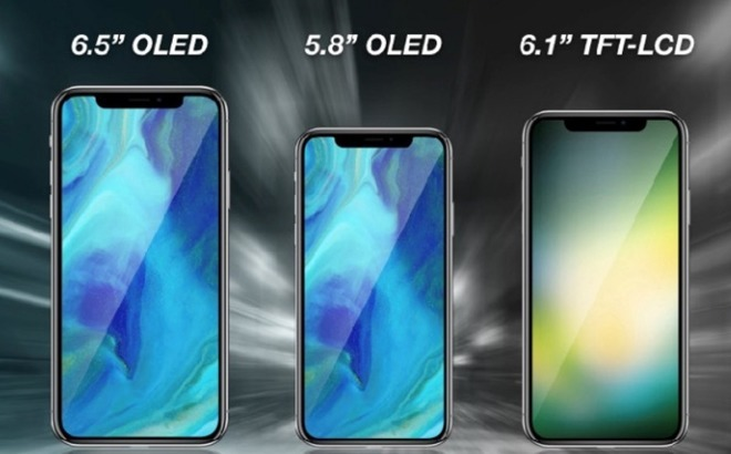 Cheaper 6.1-inch LCD 2018 iPhone expected to be Apple's most popular model