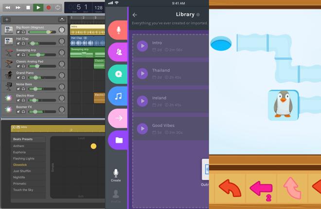 App Roundup: GarageBand, Anchor, Hopster Coding Safari, Microsoft