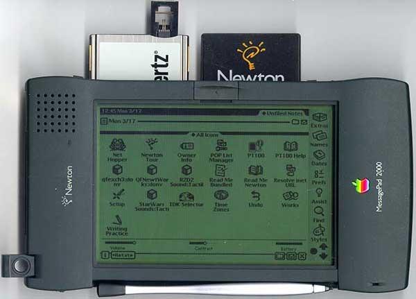 Apple's Newton, from the John Sculley era