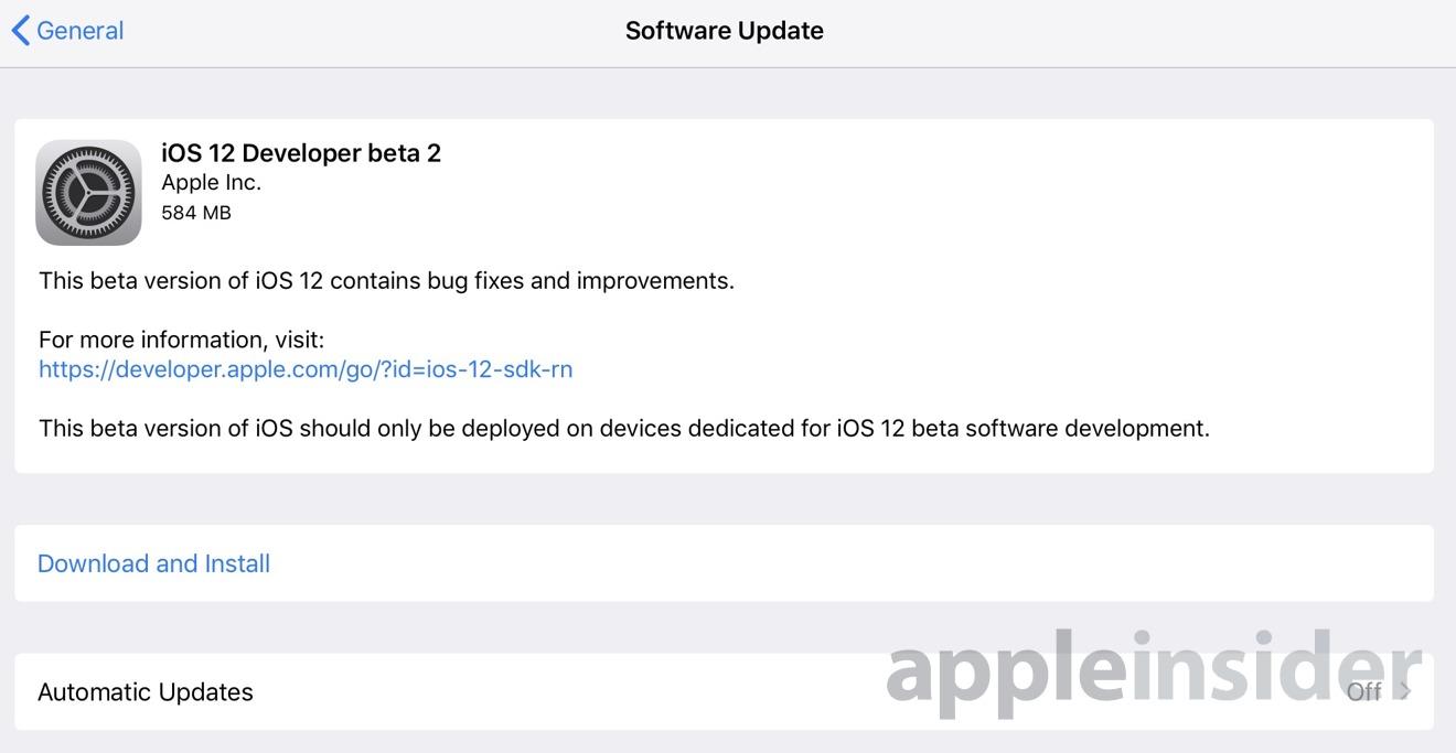 ios 12 beta 3 developer profile download