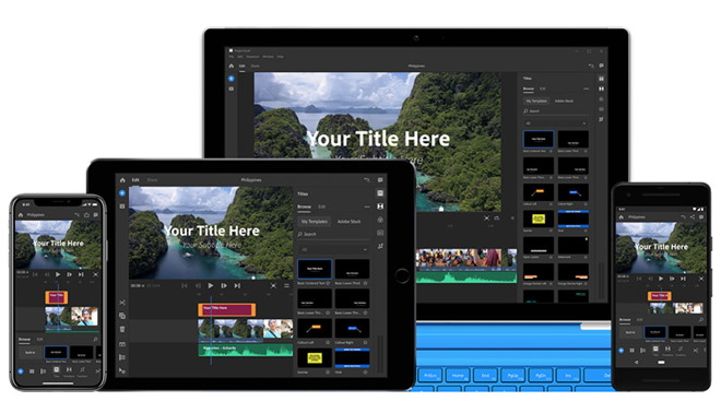 Adobe takes on iMovie with Project Rush, a powerful cross ...