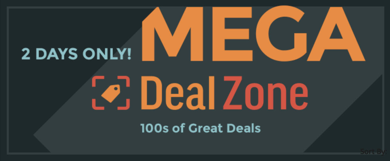 BH Mega Deal Zone sale event