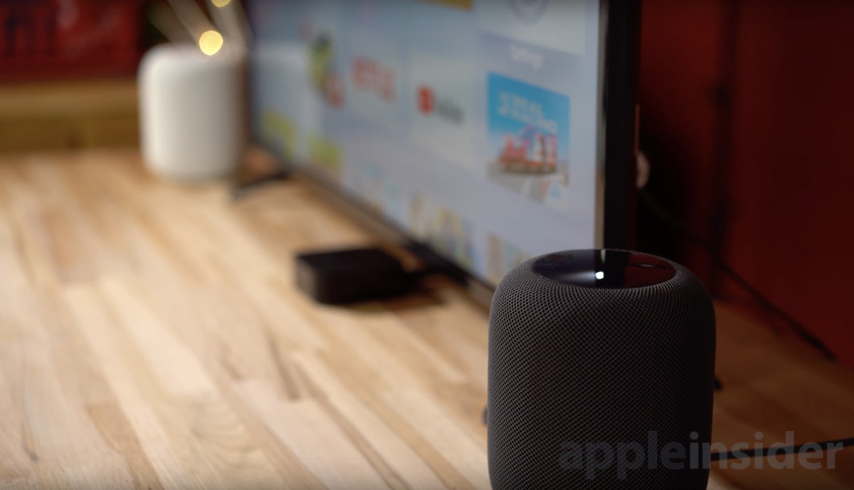 Stereo HomePods
