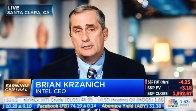Krzanich on CNBC in 2015