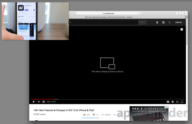 How to use Safari's Picture-in-Picture mode with YouTube on macOS