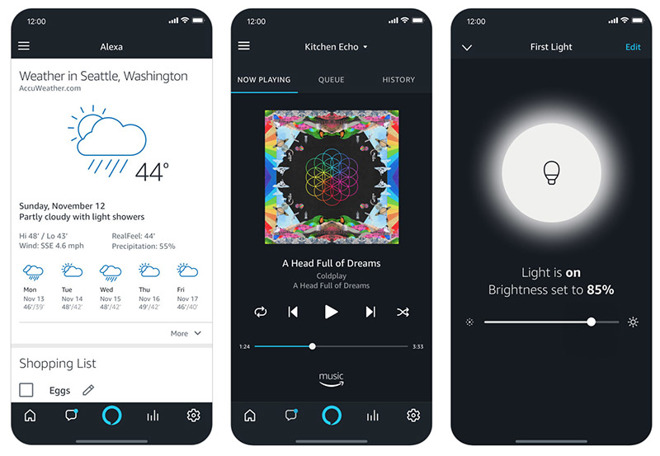 Amazon's Alexa app for iOS gains voice control