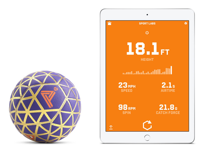 Motion-sensing Gameball adds physical interaction to iPhone, iPad