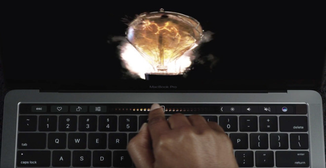 The Touch Bar on the MacBook Pro is well implemented, but