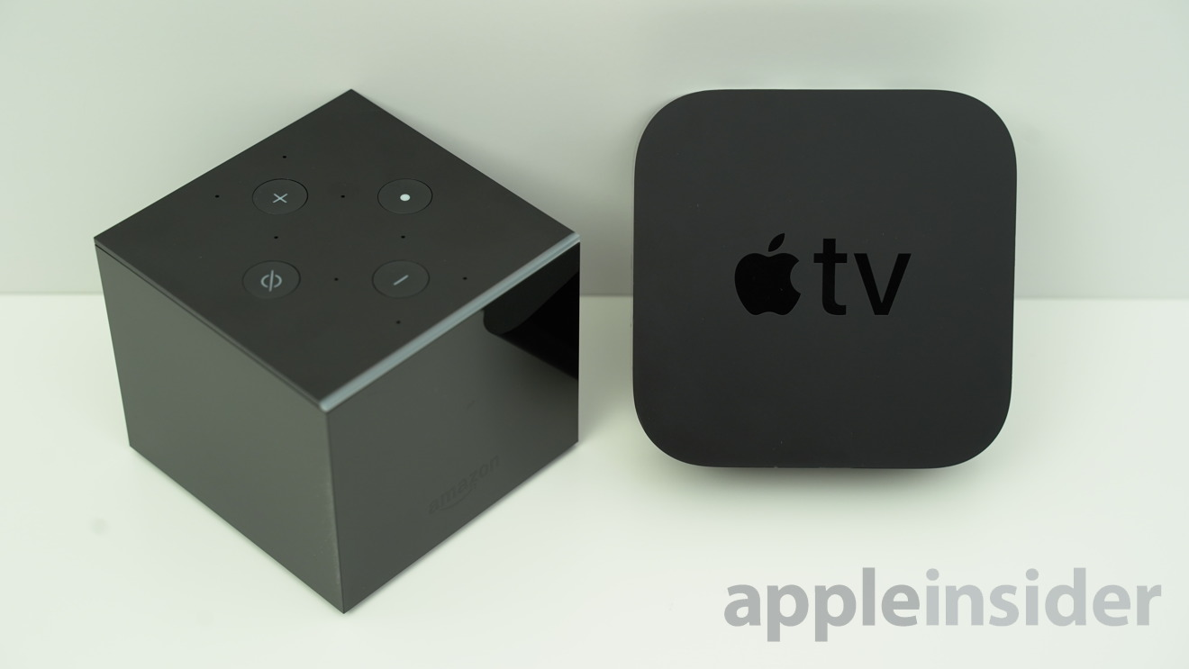 Comparing Amazons Fire Tv Cube And The Apple Tv 4k