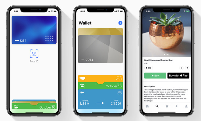Apple Pay on iPhone XS