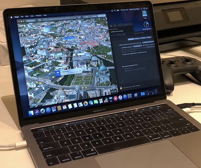 For space grey MacBook Pro with Touch Bar, Mojave Dark Mode