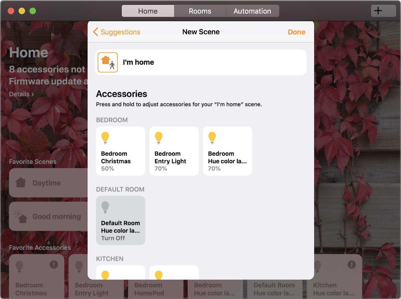 Mojave's Home app