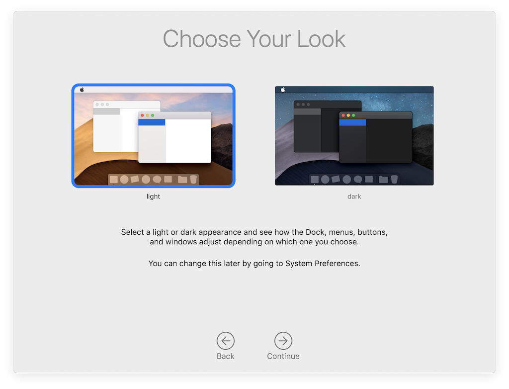 Apple's new macOS Mojave optimizes the Mac for iOS users