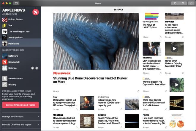 mojaves news app