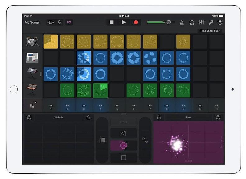 Apple GarageBand iPad