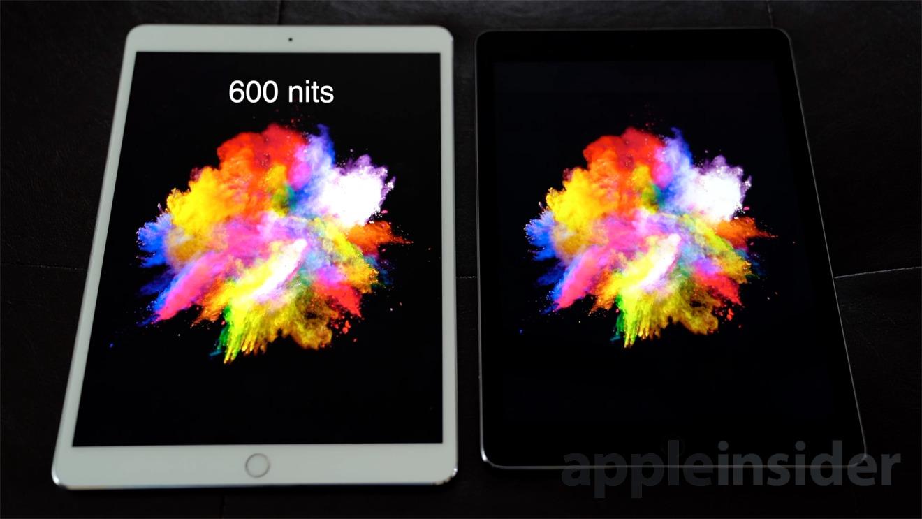 Apple iPad Pro display