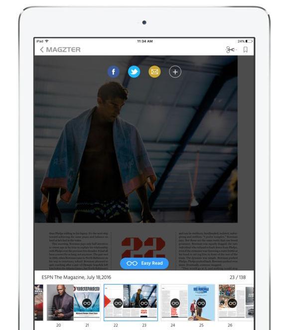 Comparing the five major digital magazine subscription services