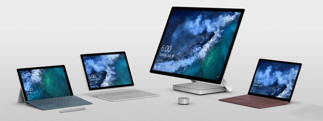 the apple versus microsoft hardware double standard rears up again
