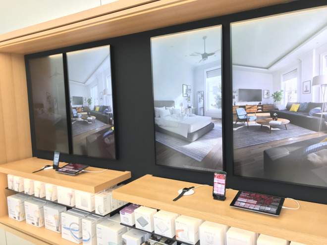Apple retail expands HomeKit demos with Nanoleaf Remote hands-on area
